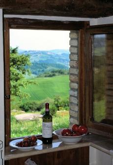 Radicofani - Podera Pietrata window